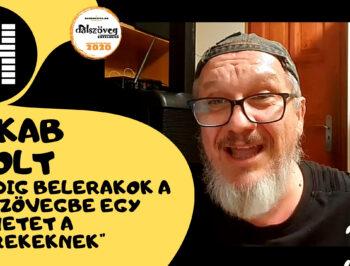 Jakab Zsolt: Mindig belerakok a dalszövegbe egy üzenetet a gyerekeknek